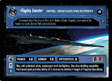 Flagship Executor [played] DEATH STAR II star wars ccg swccg