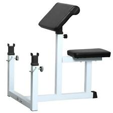 NEW Arm Curl Weight Bench Seated Commercial Preacher Dumbbell Biceps Home Gym