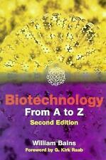 Biotechnology from A to Z-ExLibrary