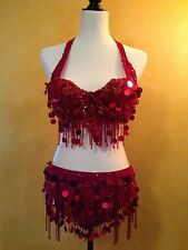 Bellydance Bra And Belt Costume Set