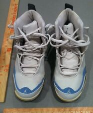 Nike Air Jordan Shoes 4 1/2 White and Blue High Tops