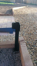 Timber Railway Sleeper Driveway Path Pathway Edge Edging CORNER Bracket UK