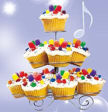 Muffinständer 3 Etagen 13 Muffins Cupcace Ständer Etagere Törtchen Servierplatte