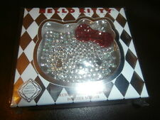SANRIO HELLO KITTY 40TH ANNIVERSARY RUBY SILVER COMPACT MIRROR SEPHORA  NIB
