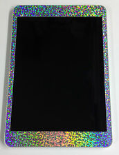 iPad Mini SPARKLES RAINBOW  Decal Skin sticker (Front ) * for Mini iPad Only *