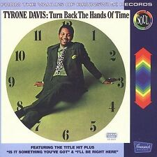 Tyrone Davis Turn Back the Hands of Time factory sealed CD Chicago soul Brunswic