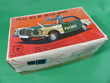 Ichiko Made in Japan - Mercedes Benz  Polizei in Box Tinplate