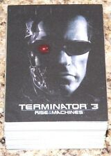 Terminator 3 Rise of the machines by Comic Images. Complete 72 card base set.