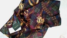 Ralph Lauren Damen Schal aus 100% Seide 148x30cm TOP !   Neu mit Etikett