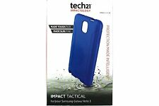 Genuine Tech 21 D30 Impact Tactical Blue Case T21-3673 for Samsung Galaxy Note 3