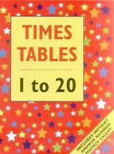 Times Table - 1 to 20 : Includes Instant Answer Number Matrix Chart by...
