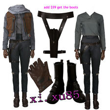 New Orignal Rogue One Jyn Erso Cosplay Costune Full Suit Custom Made Customize