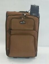 Valise trolley 77 cm souple 2 roues BRIC'S bronze neuf (474)
