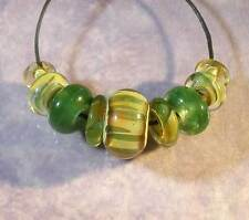 LGL- Handmade Boro Lampwork Beads SRA - WATER WHEEL - Nb6518, Jewelry & Craft