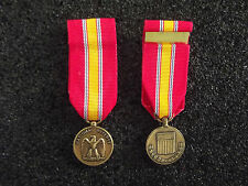 (a19-076) us medalla National Defense Service Medal miniatura medalla