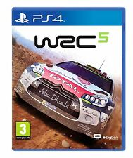 WRC 5 PS4 Sony PlayStation 4 Brand New Factory Sealed Racing Rally Game