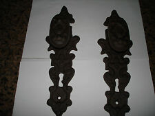 Rustic  Cast Iron Antique Style Door Knob  Gate Handle Pulls