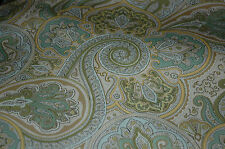 """WAVERLY """"PADDOCK SHAWL"""" MINERAL PRINTED DRAPERY OR UPHOLSTERY FABRIC 6.875 YDS"""