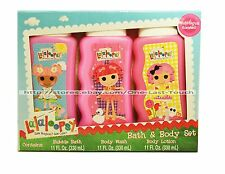 33oz total* LALALOOPSY 3pc Scented Set BODY WASH+LOTION+BUBBLE BATH Set/Lot 2/2