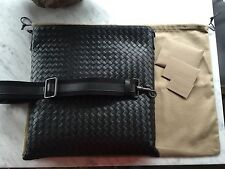 Bottega Veneta - Large Intrecciato VN Messenger Bag Purse