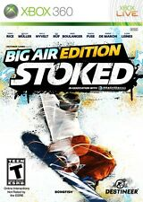 Stoked -- Big Air Edition Microsoft Xbox 360 video games 2009 NIB New in Package