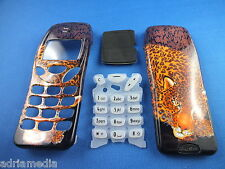 Front Back Cover Tastatur Nokia 3210 Gehäuse Handyschale Neu Tiger Housing Phone