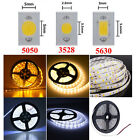 5M 3014 5050 3528 5630 SMD 300 / 600 LEDs Cool/Warm White Waterproof Strip Light
