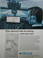 7/1967 PUB DECCA NAVIGATOR APPROACH AID AIRFIELD EXECUTIVE AIRCRAFT ORIGINAL AD