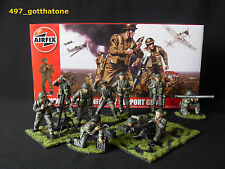 Airfix 1/32 british infantry support group WW2. professionnellement peint. ensemble complet