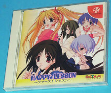 Happy Lesson - First Lesson - Sega Dreamcast DC - JAP Japan