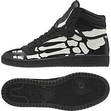 Adidas Original Top Ten Hi Skeleton Bones Black/White M18334 Men's Shoes Size10
