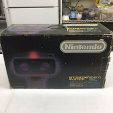 1st Print Nintendo Deluxe Set w/ ROB complete in box VERY GOOD! NES R.O.B. Robot