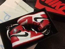 Air Jordan Retro 1 Chicago 3D Keychain With Sneakerbox