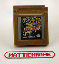 Nintendo Game Boy - Pokemon Gold - Not For Resale Demo, GB NFR USA