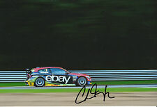 Colin Turkington Hand Signed Ebay Motors BMW 12x8 Photo.