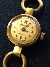VINTAGE RETRO EAST GERMAN GLASHUTTE LADY WATCH 17 JEWELS GERMANY DDR