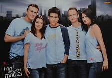 HOW I MET YOUR MOTHER - A3 Poster (ca. 42 x 28 cm) - Clippings Fan Sammlung NEU