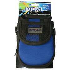 Neoprene Camera pouch with 2 compartnments and shoulder strap. photography bag