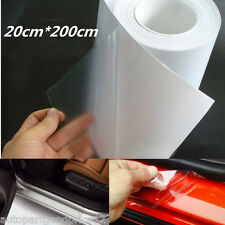 Clear Car Door Sill Edge Paint Protection Vinyl Film Sheet Anti-Scratch 20*200cm