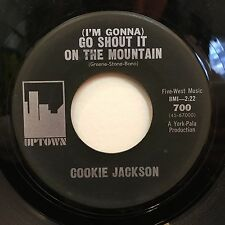 Cookie Jackson – Shout It On The Mountain / Uptown Jerk on Uptown 700 45rpm
