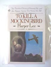 TO KILL A MOCKINGBIRD by HARPER LEE 1982 VINTAGE PAPERBACK WARNER *OOP* LIKE NEW