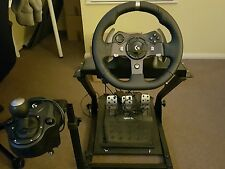 Logitech g920 steering wheel with gt omega stand xbox one/PC
