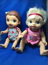 Lot of 2 Baby Alive dolls Hasbro