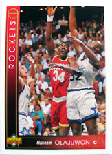 CARTE  NBA BASKET BALL 1994  PLAYER CARDS HAKEEM OLAJUWON (113)