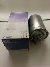 VW Transporter Caravelle T4 Fuel Filter 1.9D 1.9TD  1990-2003 Genuine Mahle KL75