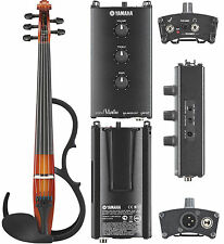 Yamaha SV-255 Pro Silent Electric Brown 5-String Violin - AUTHORIZED DEALER!