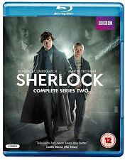 SHERLOCK BBC TV Series Complete Season 2 BluRay Collection+Extras New HOLMES