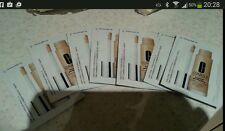 JOB LOT Clinique Beyond Perfecting  Foundation/concealer 20 X Samples - Neutral