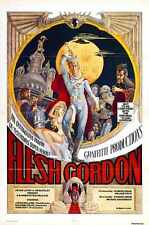 Flesh Gordon Poster 01 Metal Sign A4 12x8 Aluminium