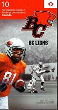 Canada 2012 Booklet #500 CFL Lions